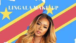 LINGALA MAKE UP TUTORIAL  | MAQUILLAGE FACILE NA LINGALA | PONA BANA YA CONGO