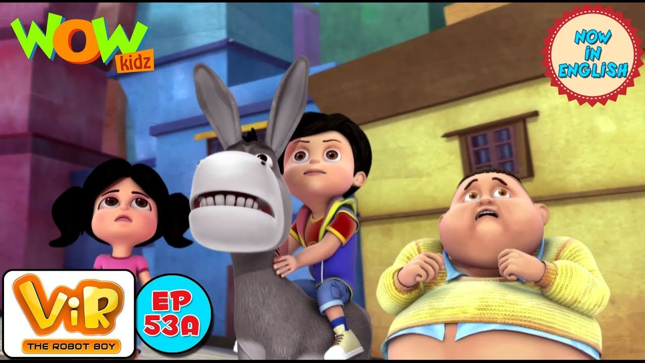 Download Vir: The Robot Boy -The Lady Jinn Part 1 - As Seen On HungamaTV - IN ENGLISH
