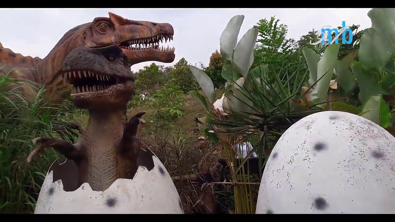 Petualangan Dinosaurus Di Taman Mini Indonesia Indah Seperti Nyata