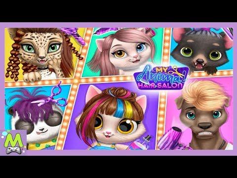 My Animal Hair Salon/Салон Красоты для Животных.Стильные Прически для Друзей Животных.Геймплей Игры