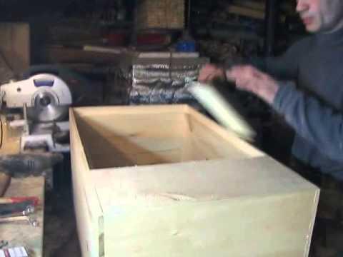 Улей лежак на высокую рамку - YouTube