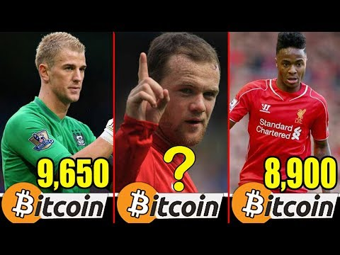 Bitcoin - Richest Football Players in England bitcoin worth - 동영상