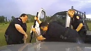 Dashcam Shows Oklahoma Officer Hitting Suspect With a Shotgun