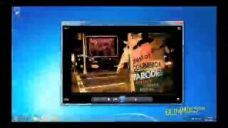 How to Watch Movies in Windows Media Player 12 For Dummies Video