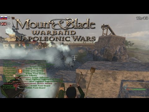 Defending The Fort - Mount and Blade Warband Napoleonic Wars Gameplay