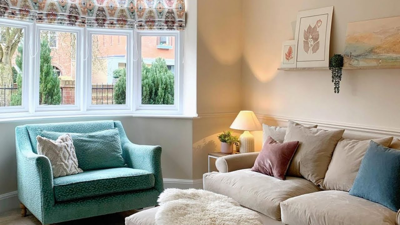 Beautiful calming home with simple decor