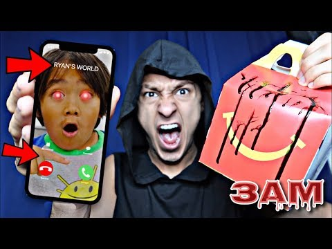 DO NOT ORDER RYAN'S WORLD HAPPY MEAL AT 3AM!! *OMG HE CAME TO MY HOUSE*