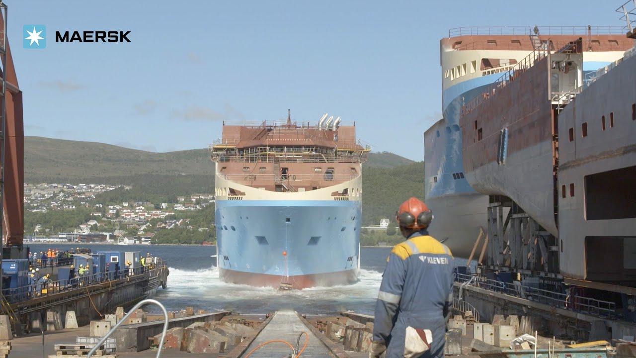 starfish anchor handling tug supply vessels at kleven verft ship