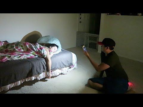 TALKING IN MY SLEEP PRANK!!!