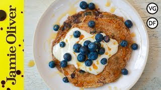 Vegan Blueberry Pancakes | Tim Shieff