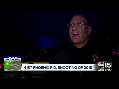 Police involved in shooting with armed carjacker in west Phoenix