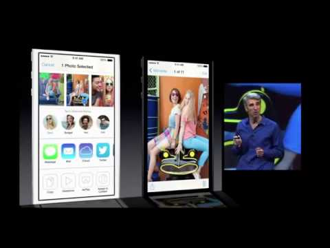 Apple iOS 7 Full Feature Presentation - WWDC 2013