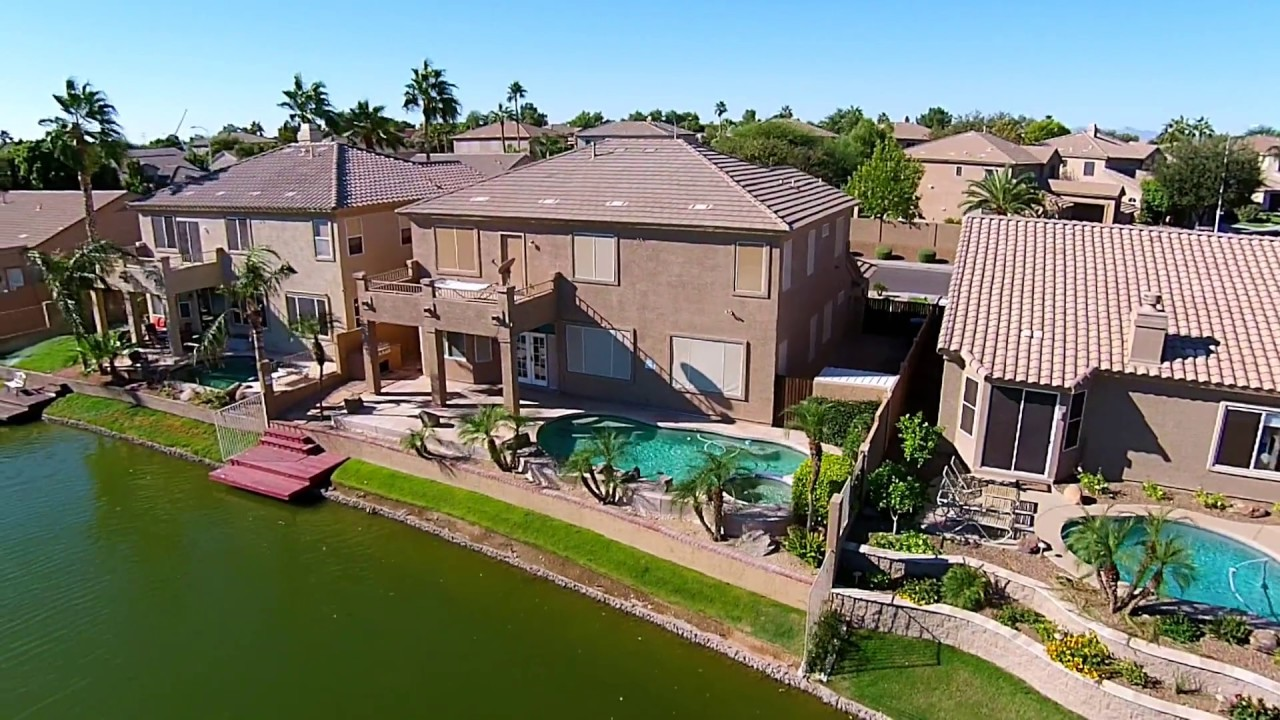 waterfront property 3801 s barberry pl chandler az 85248 youtube