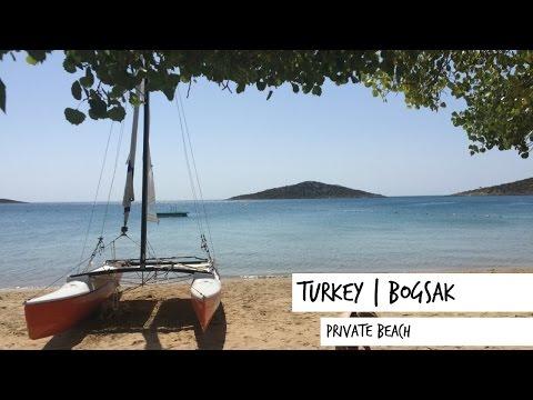 Boğsak beach, Turkey   Travel Vlog 2016