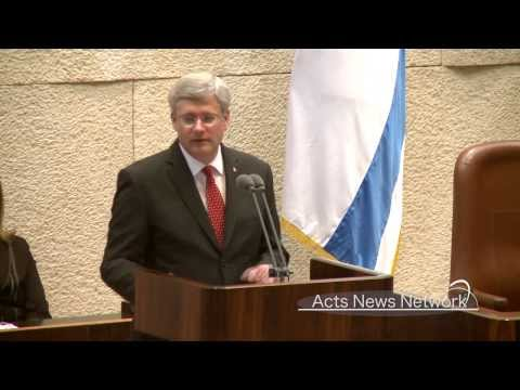 Canadian PM Harper's complete Knesset speech