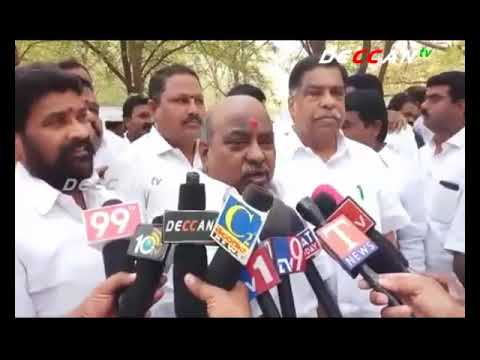 Minitster Jogu Rammana Inaugurated Oxygen Park in Medchal District | DECCAN TV