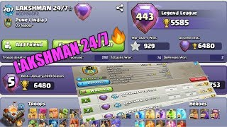 {THREE COC ID} BEST ATTACK OF TOP PLAYER OF CLASH OF CLANS :::;LAK SHMAN 24\7*:::: PUNE INDIA