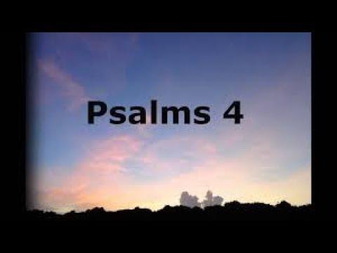 Chant a Psalm a day. PSALMS  4