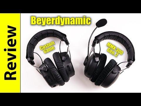 Beyerdynamic Custom Game & MMX 300 2nd Gen (FIXED MIC-TEST VERSION)