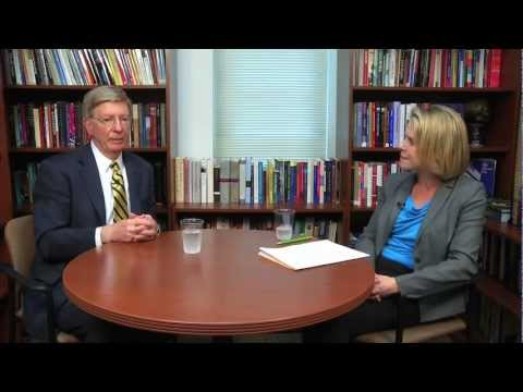George Will discusses religion and politics with WUSTL's Marie Griffith