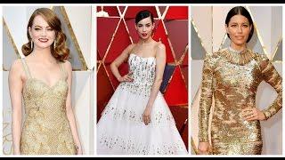 7 Mejores Vestidas de los Oscars 2017