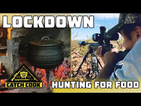 Hunting during lockdown to provide food for our people - catch cook