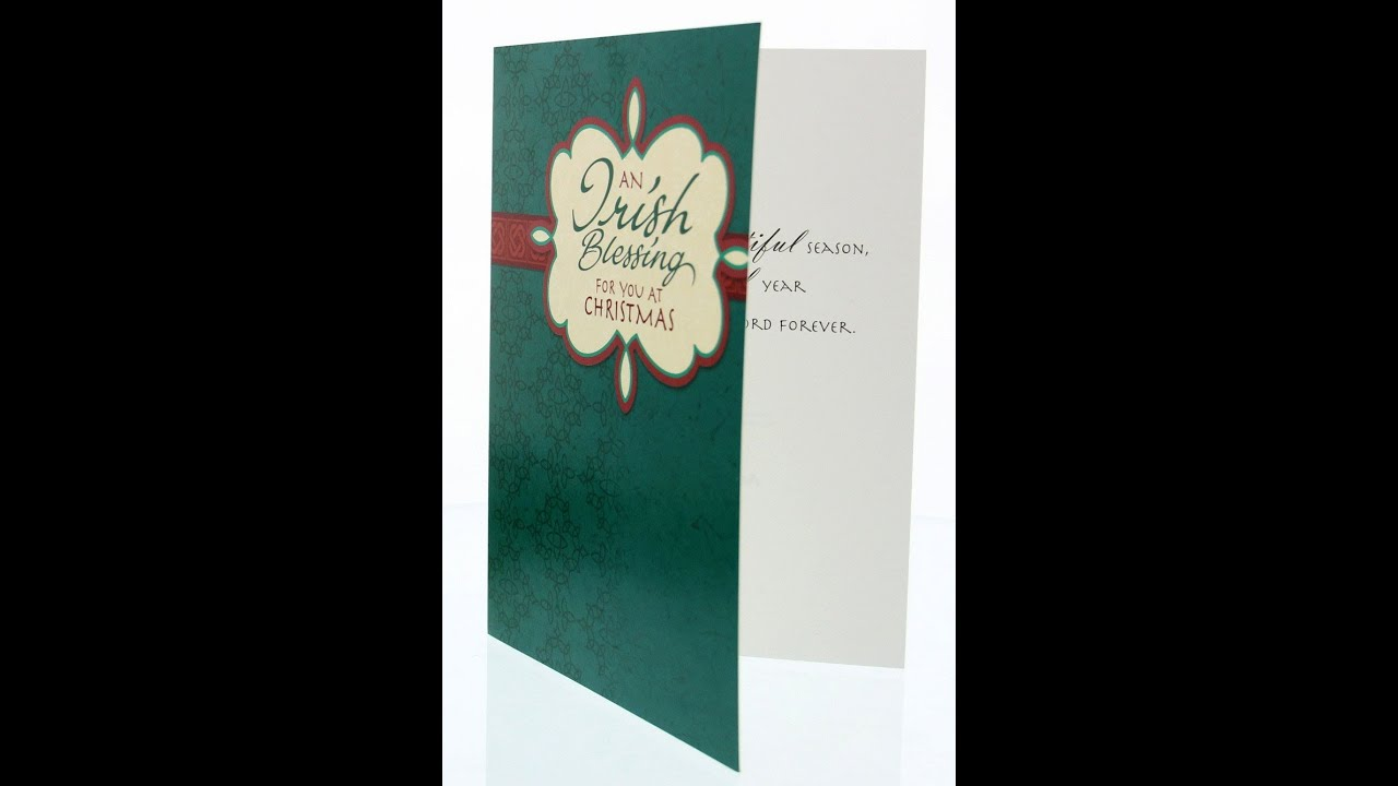 Irish blessing catholic christmas card box set abch050 youtube irish blessing catholic christmas card box set abch050 m4hsunfo