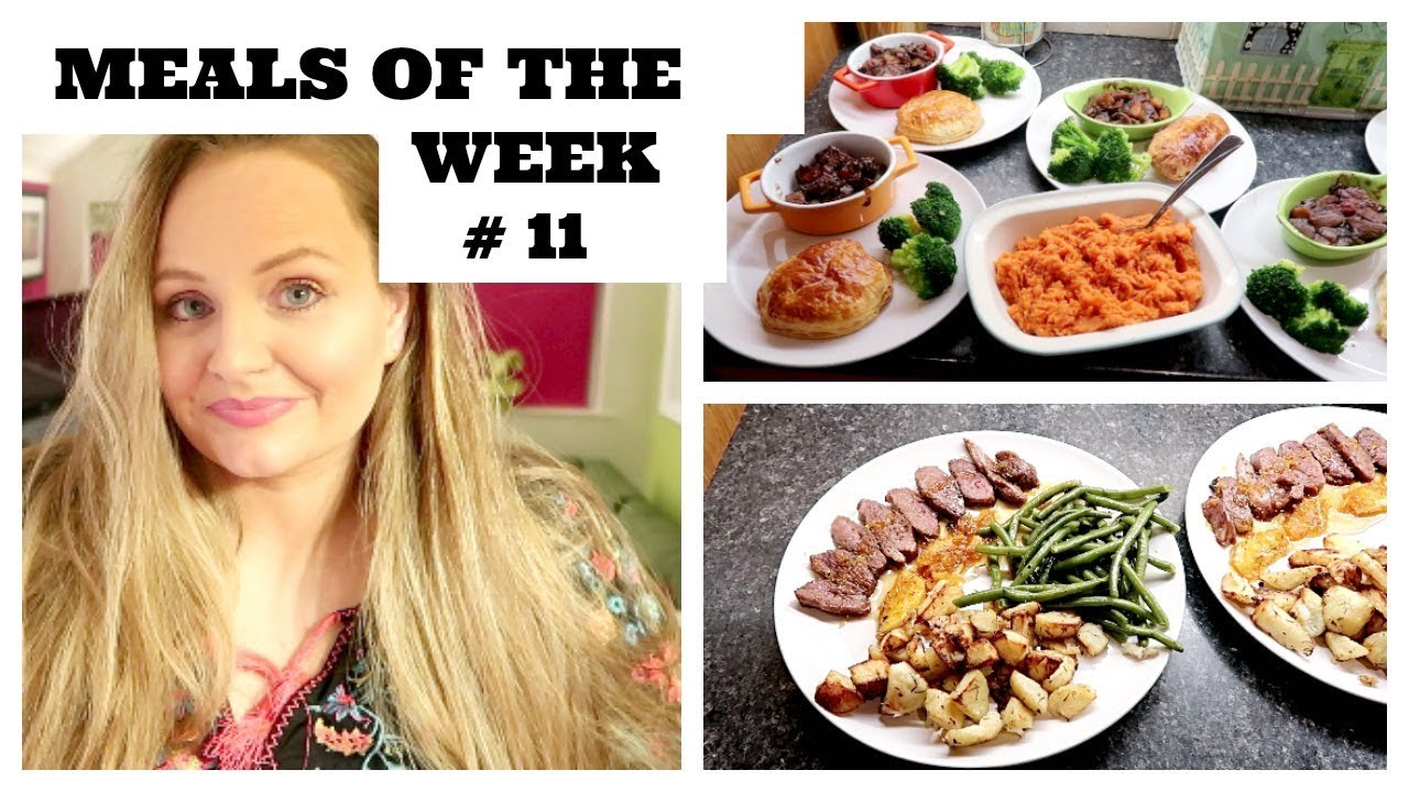 meals of the week #11 / budget / 5 family meal ideas for large