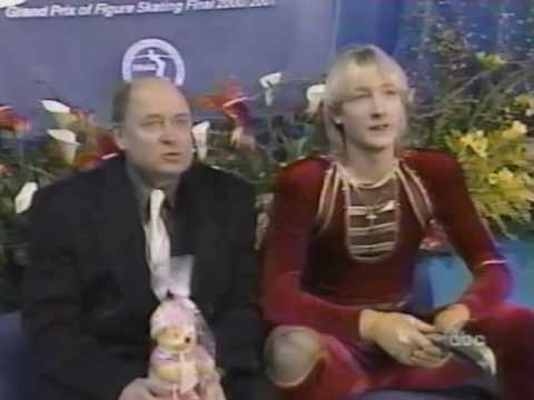 2001 Grand Prix Final-Mens Short, 1st  Free Skate & Super Final
