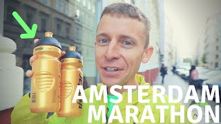 Amsterdam Marathon Final Preparations: Fartlek + Fueling