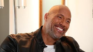 What is Dwayne Johnson thankful for?