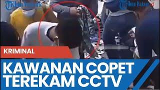 Kawanan Copet Terekam CCTV
