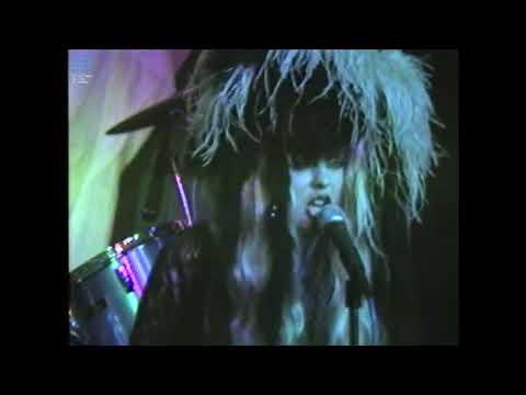 Danielle Dax 'Hammerheads' - unseen live video from 1986
