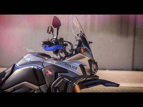 Honda Africa Twin CRF1000L Police Bike Review - Behind the Scenes