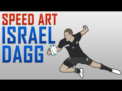 Speed Art - Israel Dagg: SUPERDAGG! | Vipertuo