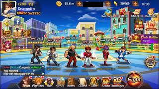 KOF 98 umol - Guilda no draw do Crazy Iori!!