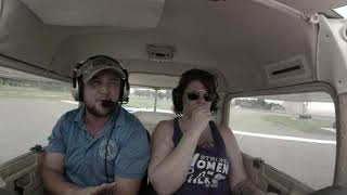Michelle's Discovery Flight | Valkyrie Aviation | Cessna 150 | San Antonio | Texas