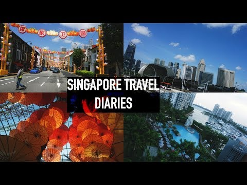 SINGAPORE TRAVEL VLOG 2018 #GUCCIGANG