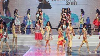 Lenggak-lenggok Cantiknya Para Kontestan Puteri Indonesia 2018