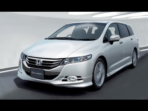 Honda New Odyssey Jakarta 2013