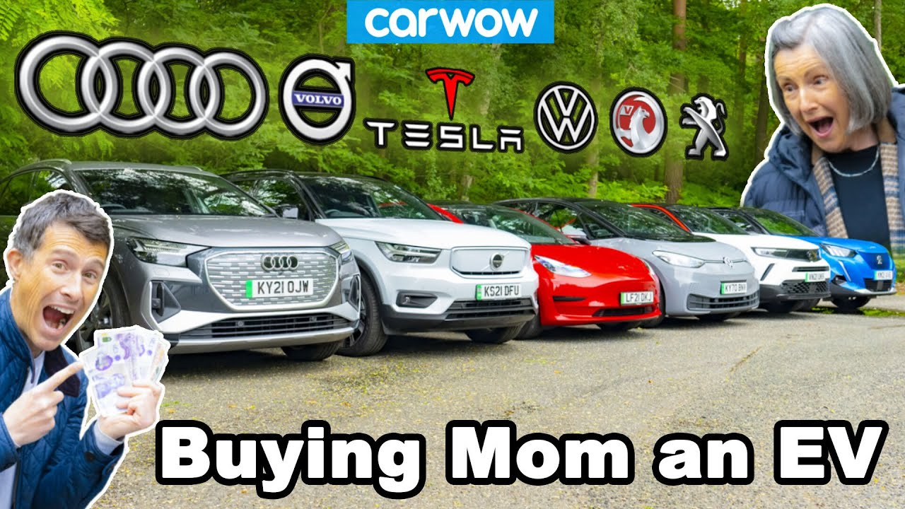 Buying my mom an electric car... But which will she choose?