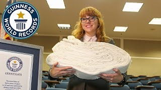 Britney Gallivan: How many times can YOU fold a piece of paper? - Meet The Record Breakers