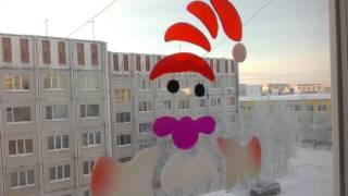 видео Трафареты на Новый год для украшений