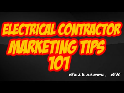 Electrical Contractor Marketing     Secrets For Saskatoon Small businesses From Sharp Edge Prom...