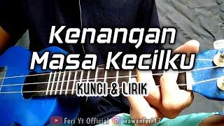 Laoneis Band - Kenangan Masa Kecilku (Kunci & Lirik) cover kentrung ukulele by Feri Yt Official