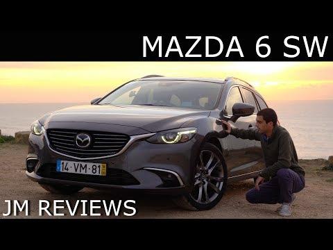 Mazda 6 SW Diesel (175cv) - QUE LINHAS!!!! Uma Carrinha Fantástica! - JM REVIEWS 2019
