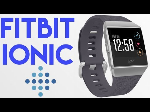 Fitbit Ionic Impressions Vloggest