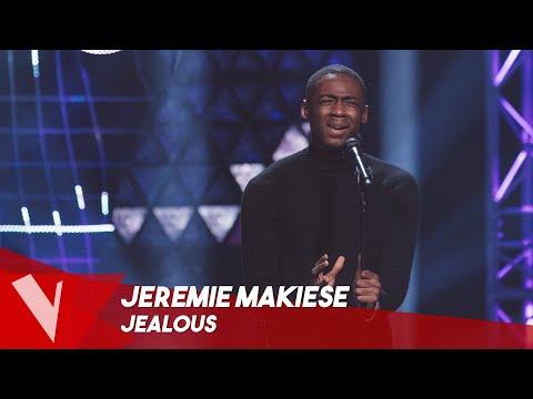 Labrinth - 'Jealous' ● Jeremie Makiese | Blinds | The Voice Belgique Saison 9