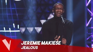 Labrinth - 'Jealous' ● Jeremie Makiese | Blinds | The Voice Belgique Saison 9