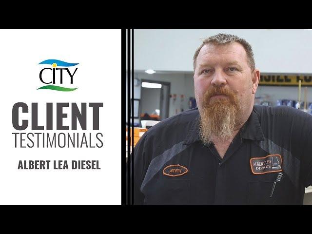 Client Testimonial - Albert Lea Diesel